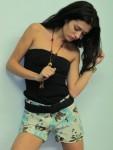 Hawaiiana Linen Shorts